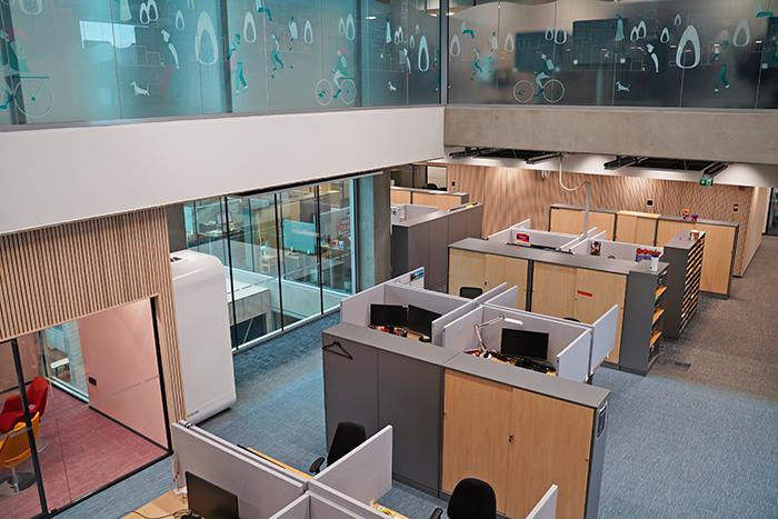 Cloettan toimistoa EduCityssä