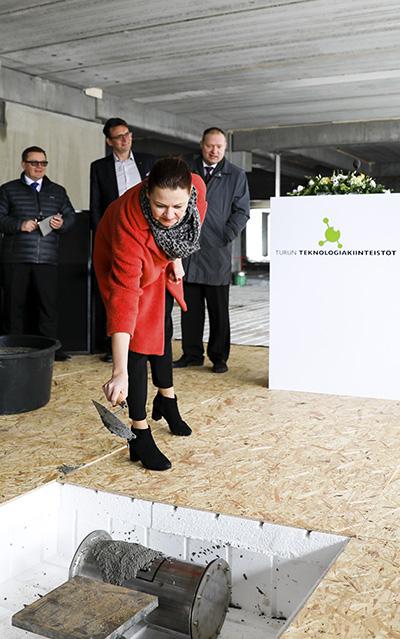 Turun ammattikorkeakoulun uusi kampus